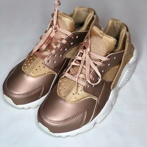 Rose Gold Nike Huarache